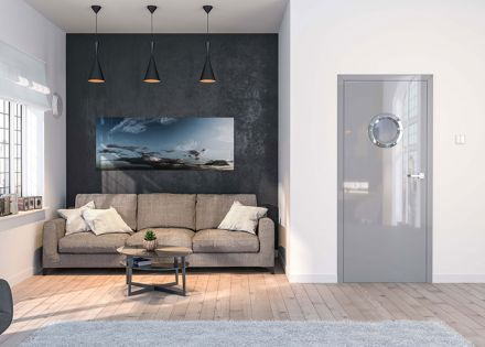 Usi de interior lacuite High Gloss